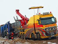 Эвакуатор грузовых автомобилей