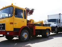 Эвакуация грузовика с частичной погрузкой