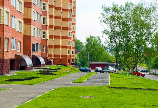 Благоустройство территории в Перми
