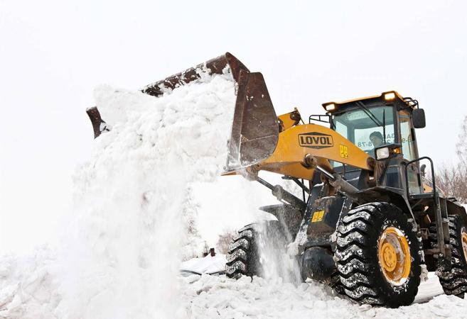 Заказать уборку снега