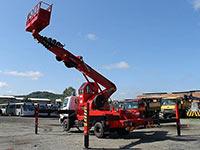 Шоссейная автовышка Hyundai 32 метра