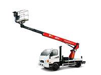 Телескопическая автовышка 15 метров