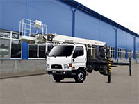 Автовышка телескопическая 22 метра Hyundai
